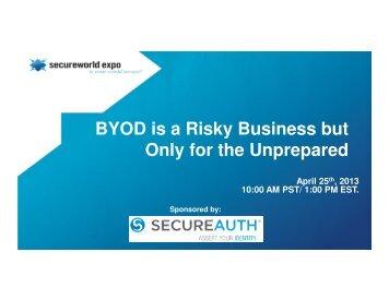 download slides - SecureWorld