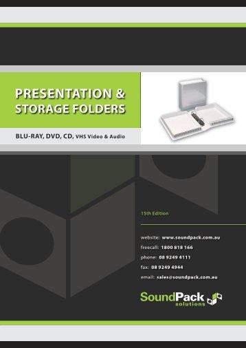 PRESENTATION & - SoundPack Solutions