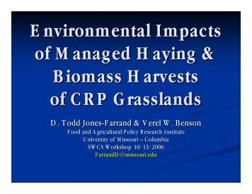 Farrand, Todd - Soil and Water Conservation Society