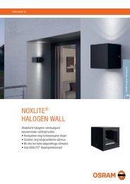 NOXLITE® HALOGEN WALL - OSRAM