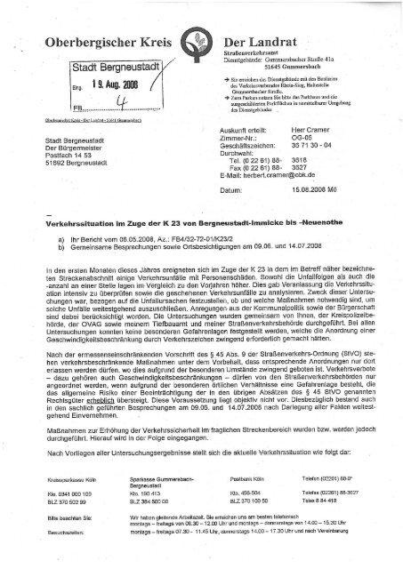 Überbergiscber rets er  Landrat - CDU Bergneustadt