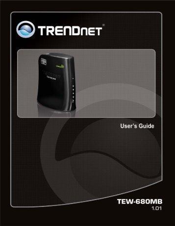 TEW-680MB - TRENDnet