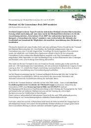 Obstland AG für Unternehmer-Preis 2009 nominiert