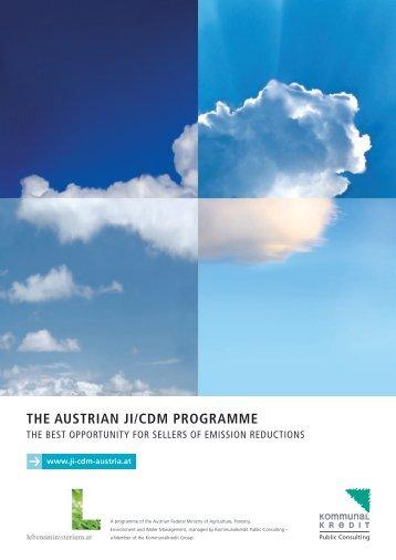the austrian ji/cdm programme - Kommunalkredit Public Consulting