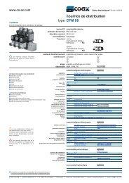 type nourrice de distribution CFM 08 - müller co-ax ag