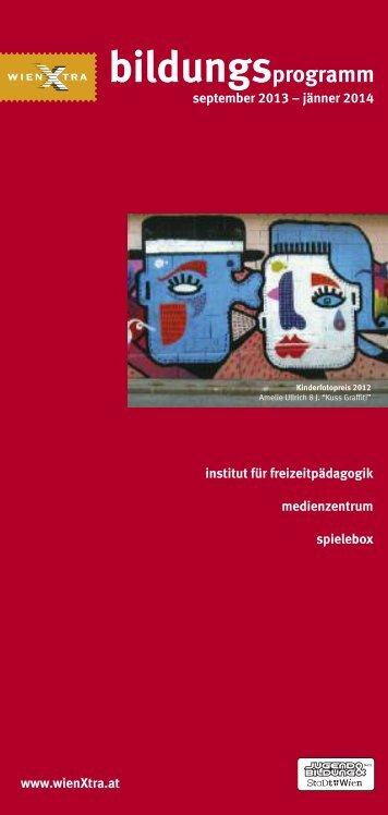 bildungsprogramm Herbst/Winter 2013 - Institut für Freizeitpädagogik