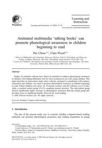 Chera & Wood 2003.pdf