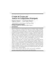 L'étude de Corpus par Analyse en Composantes Principales - IRIT