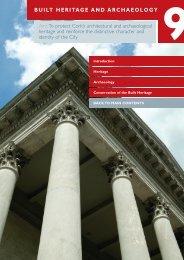 Development Plan Chapter 9 Built Heritage - Cork City Council