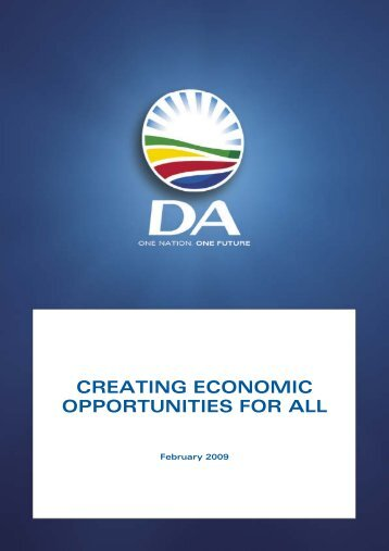 Economic policy.pdf - Democratic Alliance