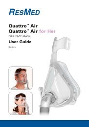 Quattro™ Air Quattro™ Air for Her - ResMed