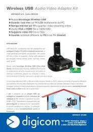Wireless USB Audio/Video Adapter Kit - Digicom