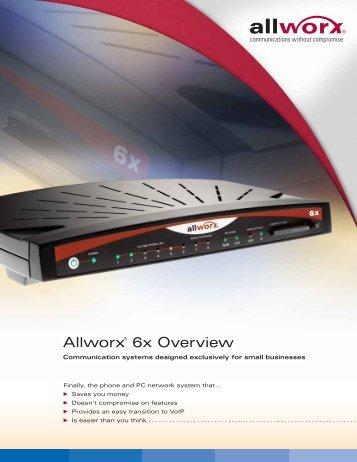 Allworx® 6x Overview - BTI Connect