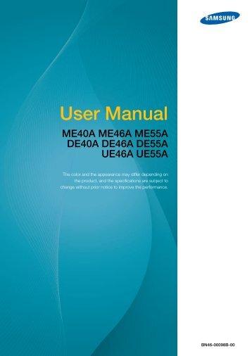ME46A Manual - Videopro