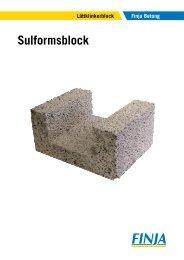 Sulformsblock - Finja