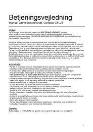 Oliestand CFLJ - CompaC