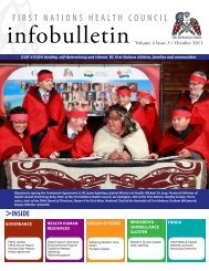 FNHC Infobulletin Volume 4 Issue 3 | October 2011 - First Nations ...