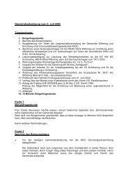 2005. 07. 05 - .PDF - Gemeinde Wilhering