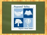 May 2 - Hopewell Valley Regional School District