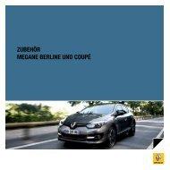 zubehör MeGANe berLINe uND coupé - Renault