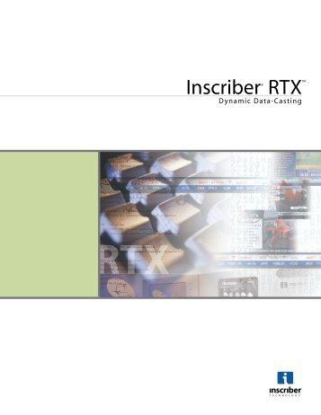Inscriber RTX