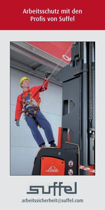 Arbeitsschutz mit den Profis von Suffel