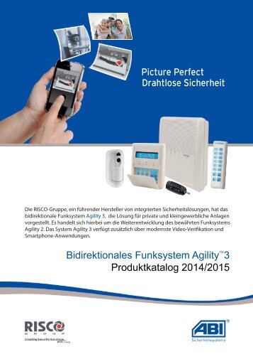 Bidirektionales Funksystem Agility 3 Produktkatalog 2014/2015 - ABI ...
