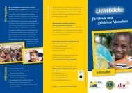 in Brasilien Lichtblicke für blinde und gehörlose Menschen