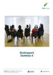 Sluttrapport DiaHelse II - Vestre Viken HF
