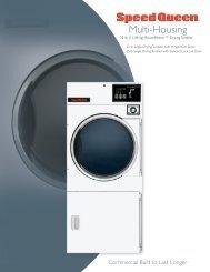 brochure - Commercial Laundry Equipment Company