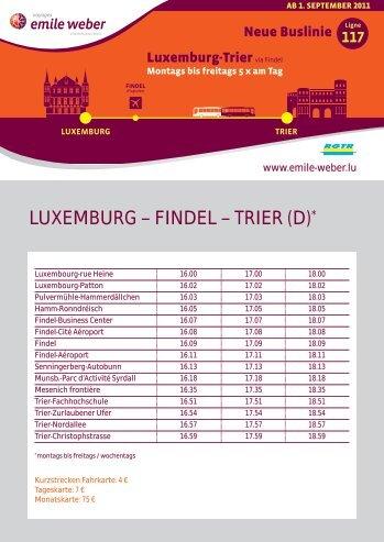 Luxemburg – FindeL – Trier (d)*