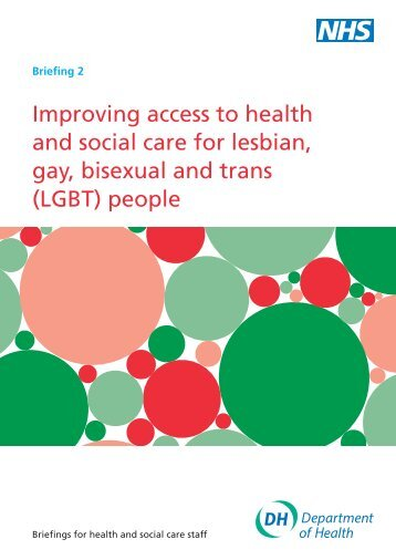 Reducing health inequalities for LGBT: Briefing 2 - Schools Out