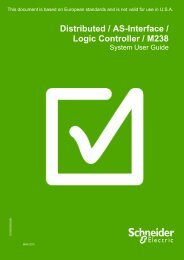 Distributed / AS-Interface/ Logic Controller ... - Schneider Electric