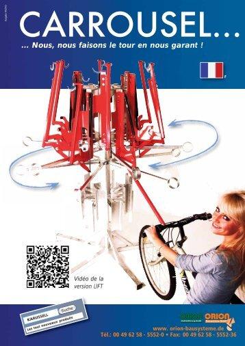 Nous, nous faisons le tour en nous garant - Orion Bausysteme GmbH