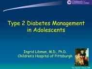 Type 2 Diabetes Management in Adolescents