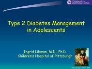 Type 2 Diabetes Management in Adolescents