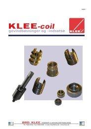 KLEEcoil dansk katalog - Brd. Klee A/S