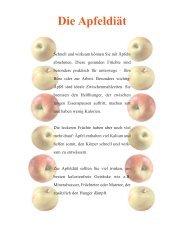 Die Apfeldiät zum Downloaden - Ratgeber Wellness und Gesundheit