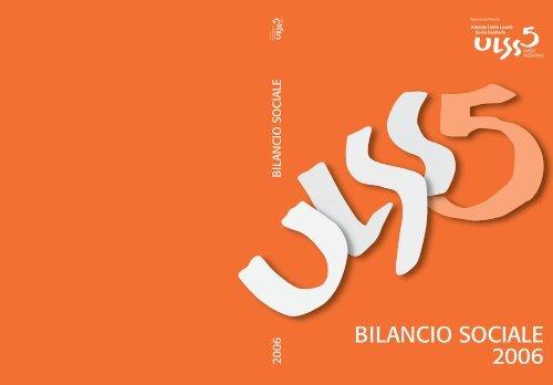 BILANCIO SOCIALE 2006 - ULSS5