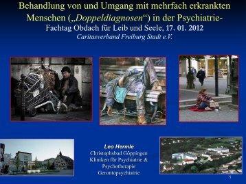 Vortrag - Caritasverband Freiburg