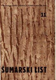 ÅUMARSKI LIST 11/1951