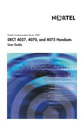 DECT 4027, 4070, and 4075 Handsets User Guide - BT Business