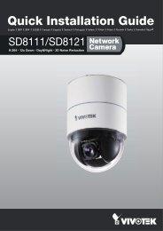 Vivotek SD8121 Installation Guide - Use-IP