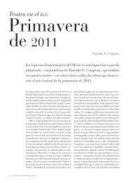 de 2011 - Revista de la Universidad de México - UNAM
