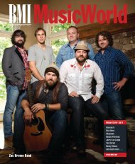 BMI MusicWorld Magazine Winter 2010 - 2011 - BMI.com