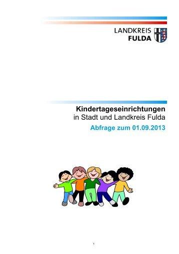 Verzeichnis mit Beschreibungen und Kontaktdaten - Landkreis Fulda