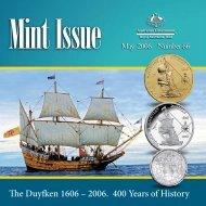The Duyfken 1606 – 2006. 400 Years of History - Royal Australian Mint