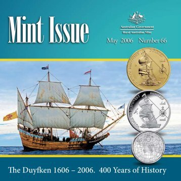 The Duyfken 1606 – 2006. 400 Years of History - Royal Australian Mint