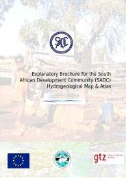 (SADC) Hydrogeological Map & Atlas - Orange-Senqu River ...