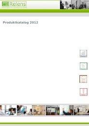 Produktkatalog 2012 - Relens